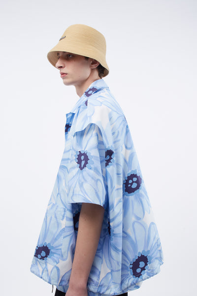 Le Bob Manosque Natural Braided paper bucket hat