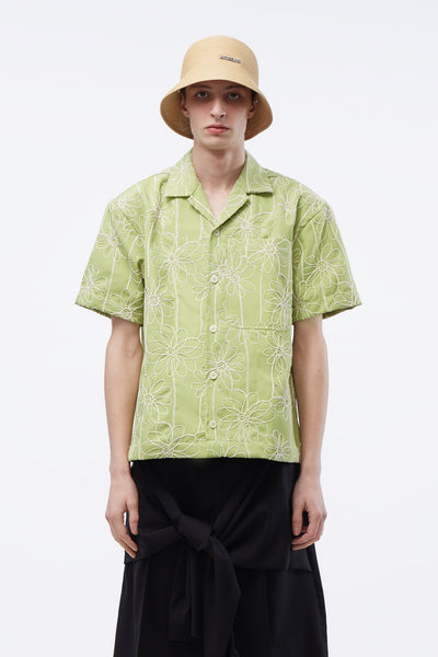 Jacquemus - La Chemise Jean Shirts Light Green