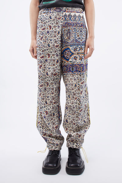 paria /FARZANEH - Iranian Print Pleat Trouser