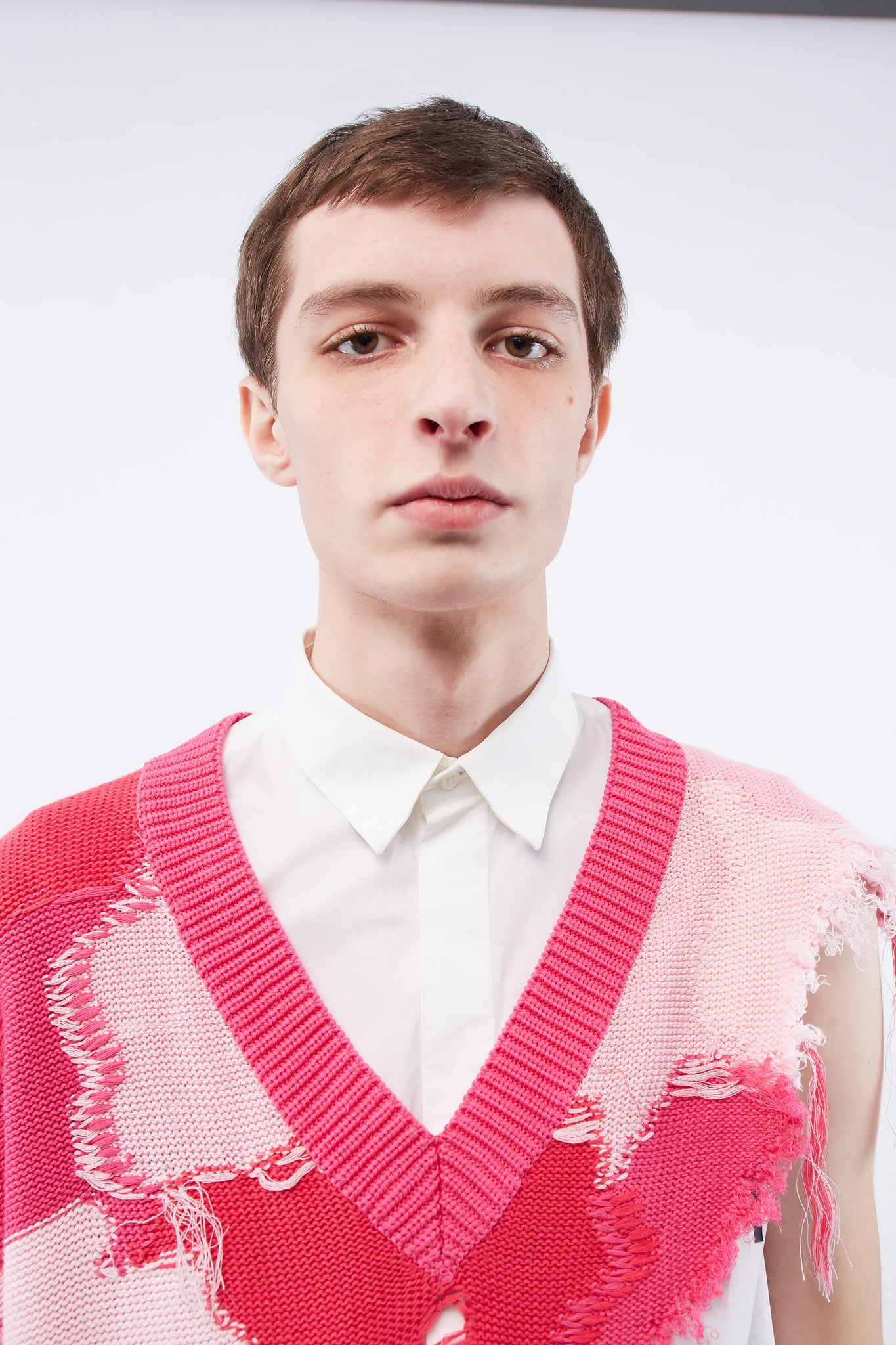 Kurt Cutaway Sweater Mixed pink