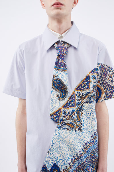 Iranian Print Vanishing Tie Shirt