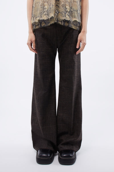 Martine Rose - Wide Tailored Trousers Brown Speckle