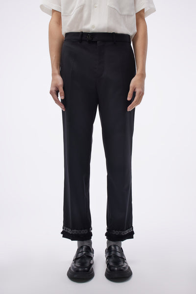 NAMACHEKO - Classic Trouser Embroidery Black