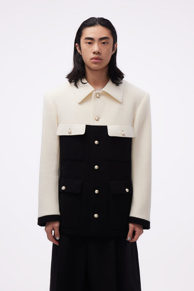 Casablanca - Amirale Jacket White/ Black