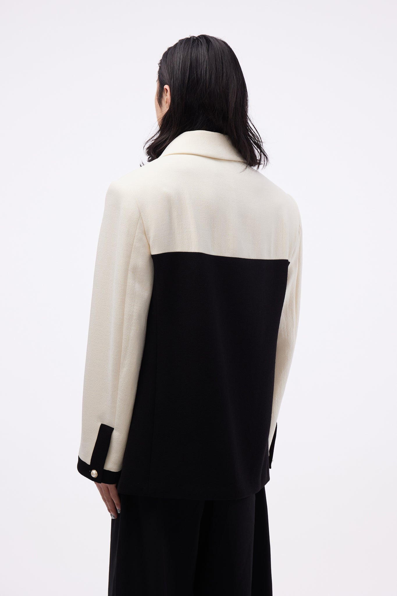 Amirale Jacket White/ Black