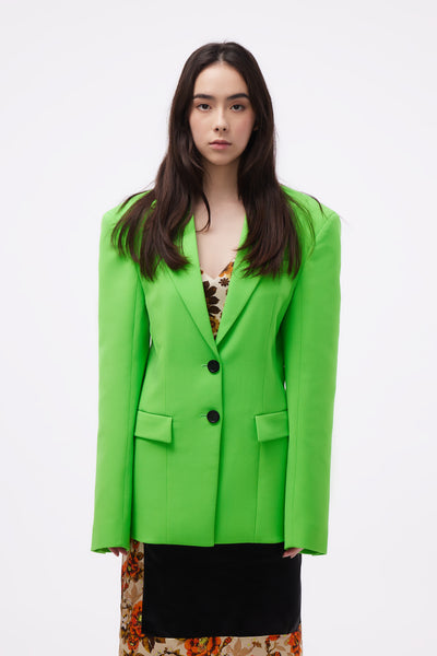 Kwaidan Editions - Tailored Jacket Neon Green
