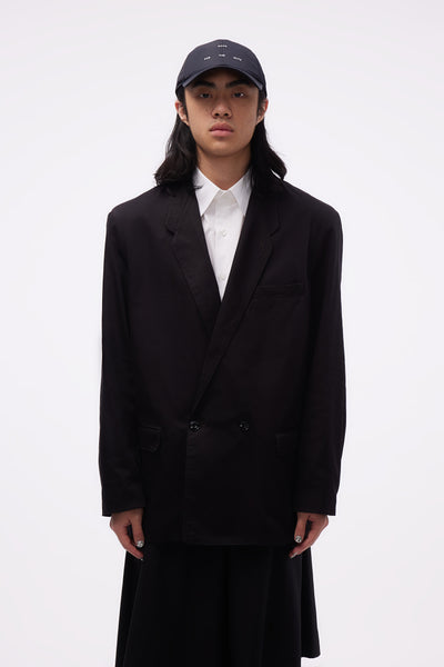Lemaire - Denim DB Jacket Black