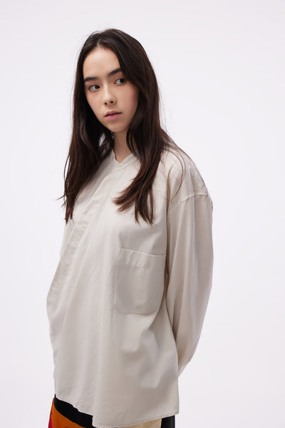 Wrap over Shirt Wild Dove