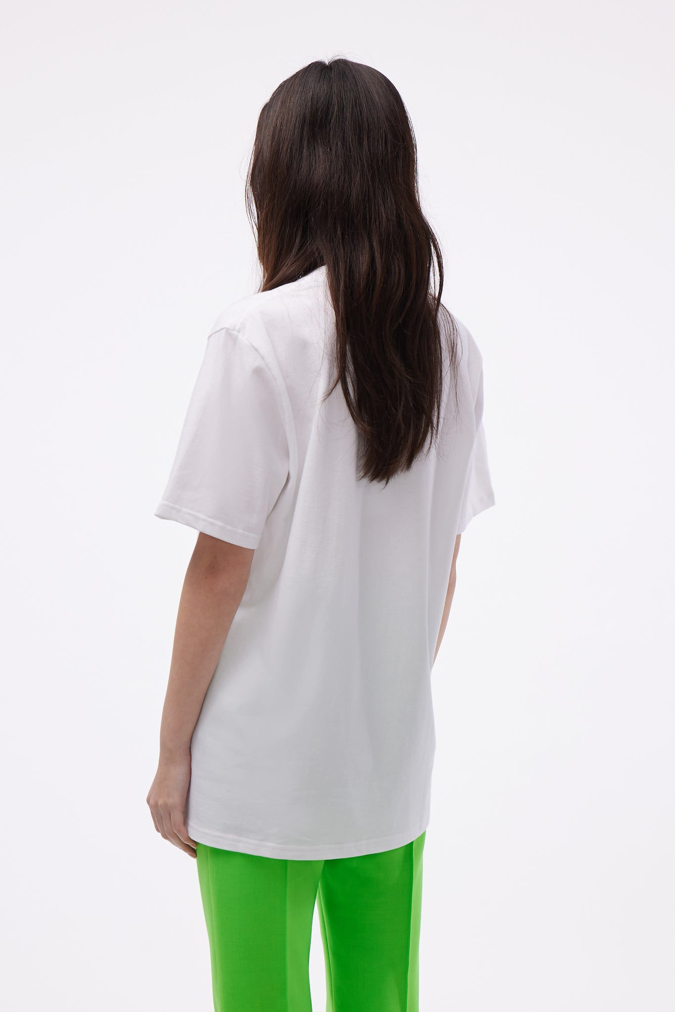 Casa Tennis Club Printed Tee White