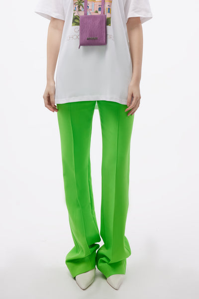 Kwaidan Editions - Straight Leg Trousers Neon Green