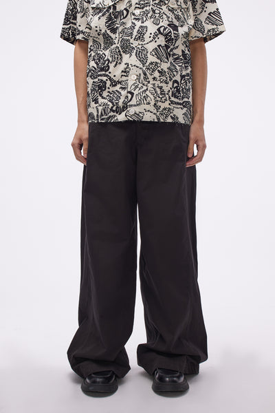 Lemaire - Large Military Pant Black