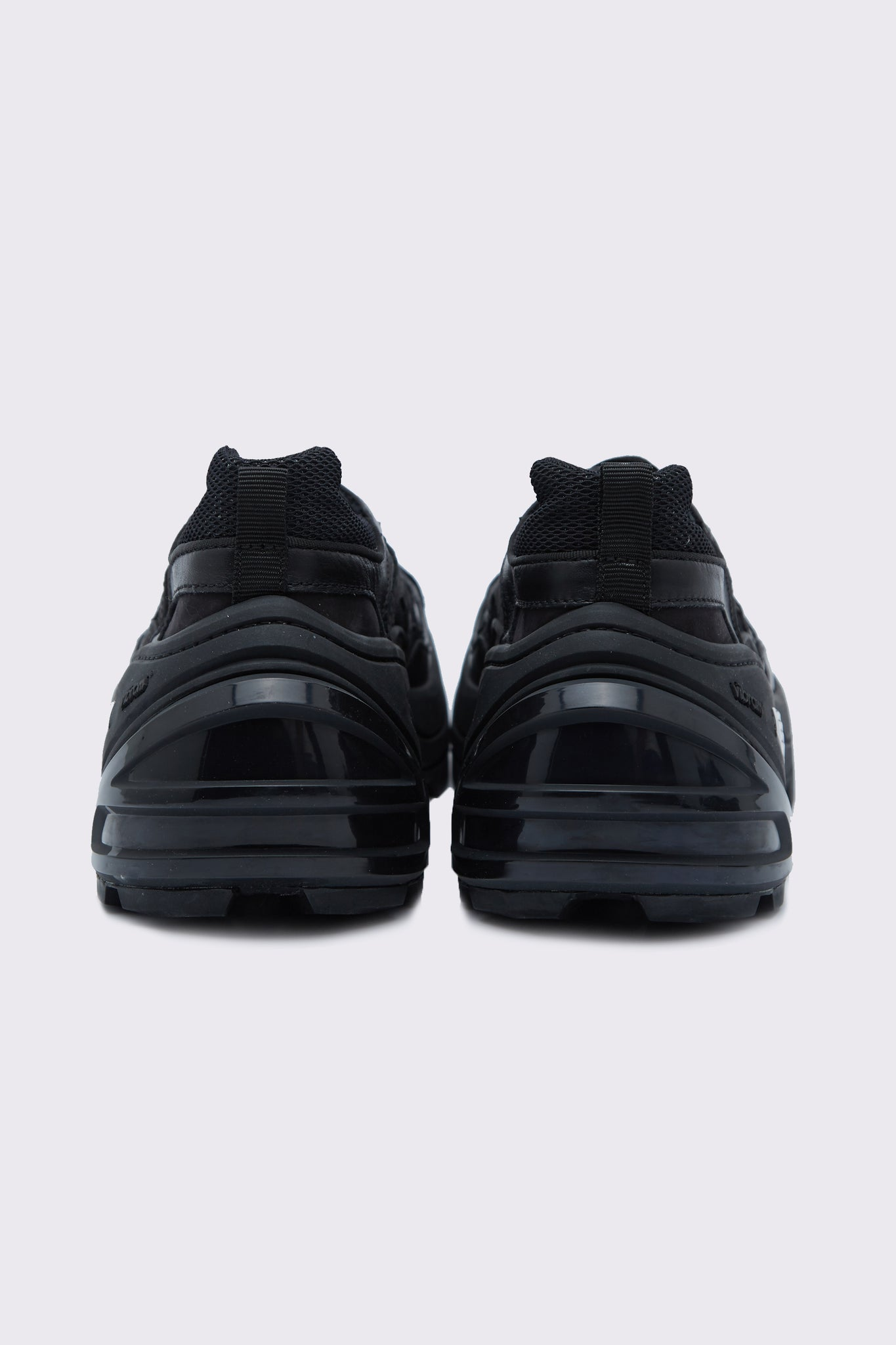 Indivisible Leather Sneaker Triple-Black