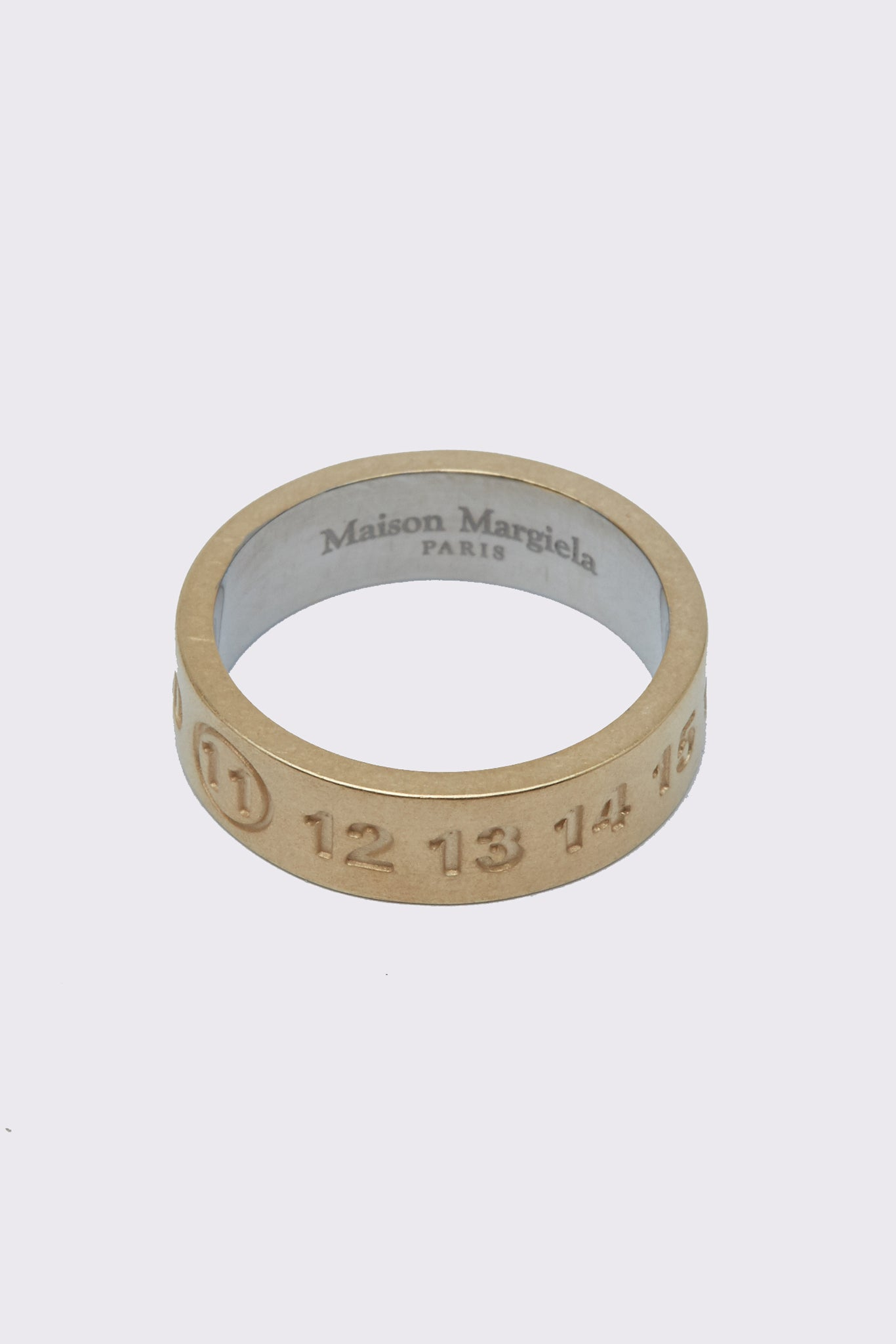 Margiela Logo Ring Gold