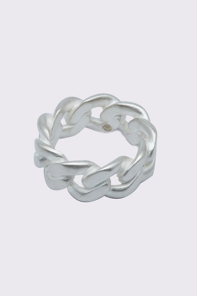Maison Margiela - Margiela Mix Cuban Ring Silver