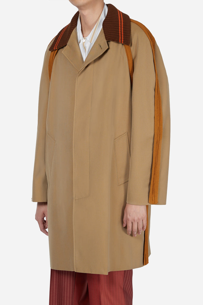 Beige Mac Coat