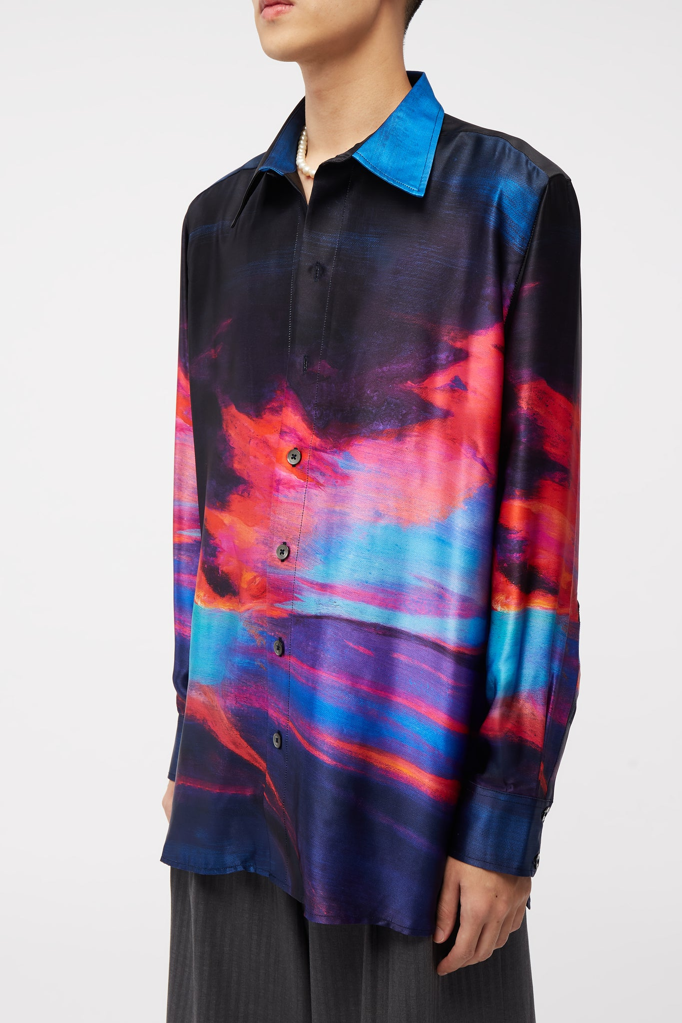 Ted Loose LS Shirt Psychedalic Oil Painting