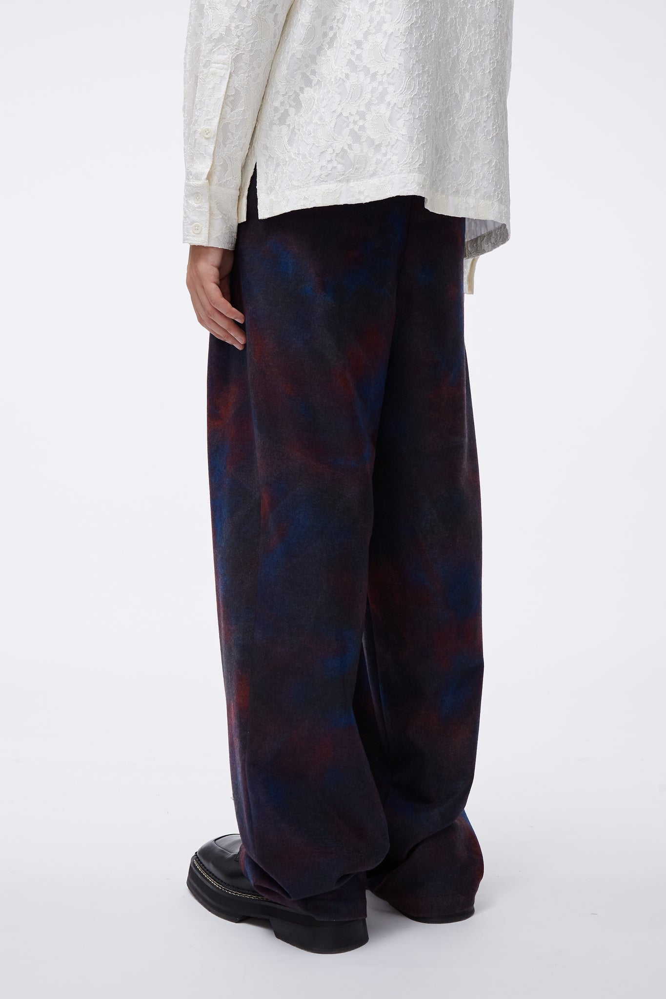 Dobby Pleats Trouser Elvis