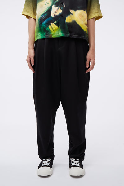 Conscious Creatures - Dan Wide Leg Trousers Dry Onyx