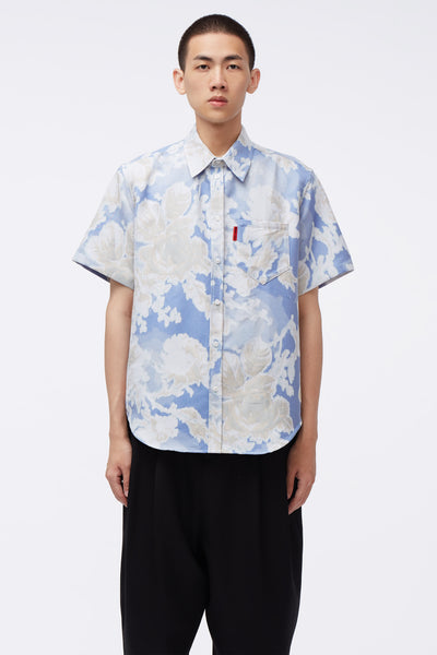 Martine Rose - Woven Shirt Blue Floral