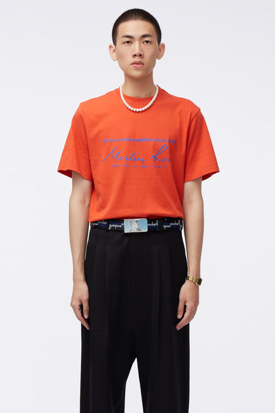 Martine Rose - Classic S/S T-shirt Orange