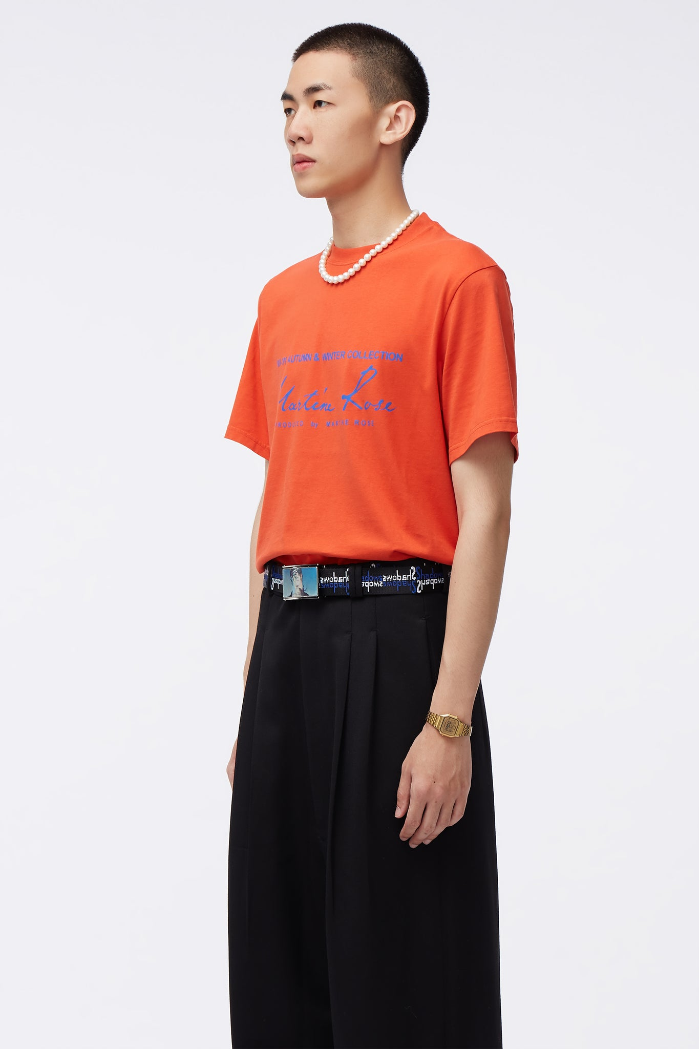 Classic S/S T-shirt Orange
