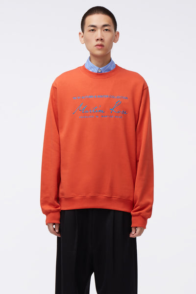 Martine Rose - Classic Crew Orange Knit