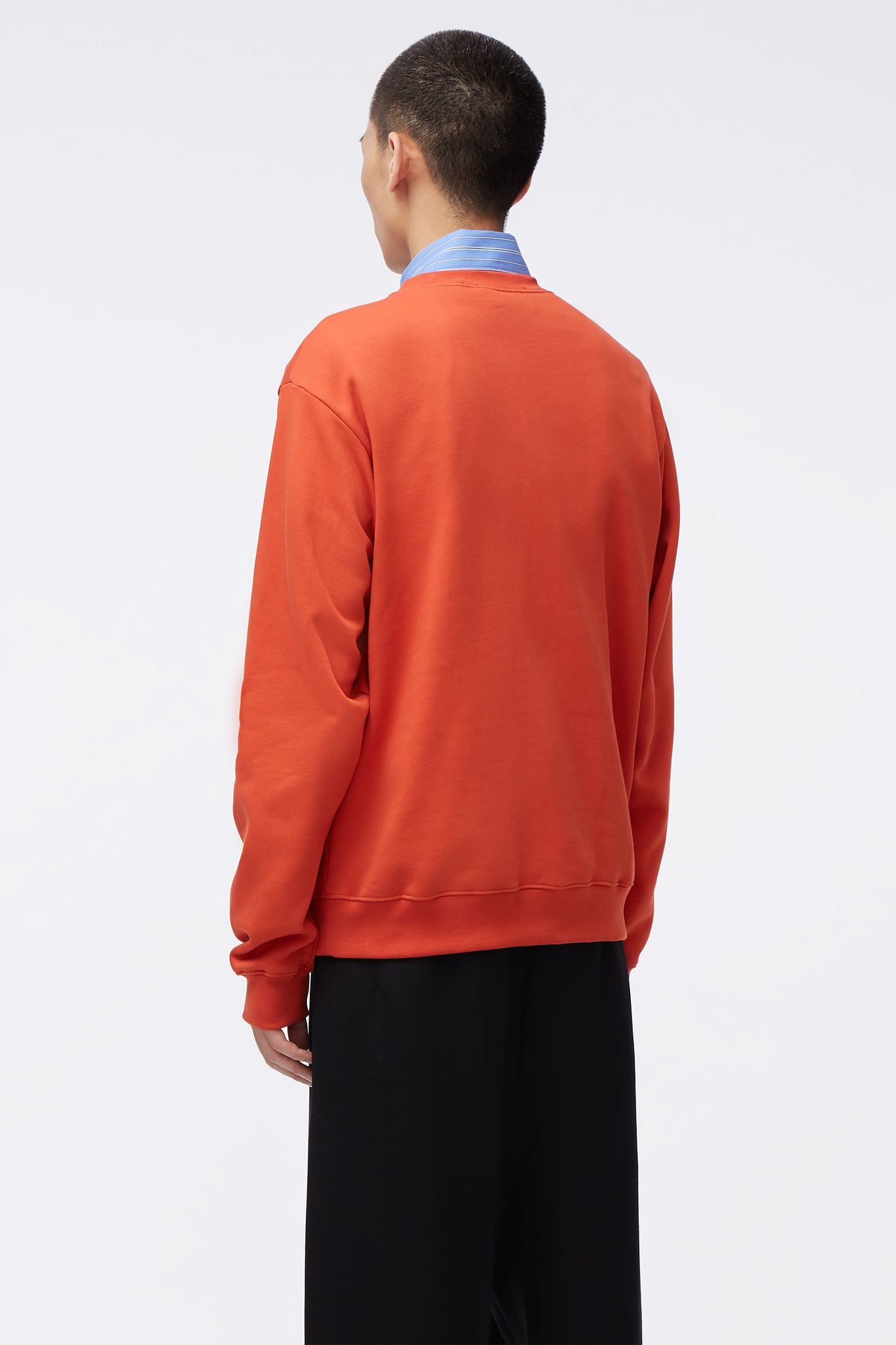 Classic Crew Orange Knit
