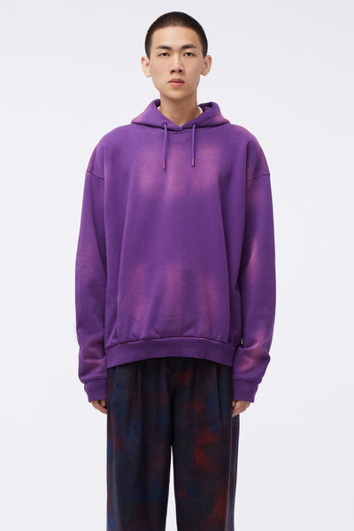 Martine Rose - Classic Hoodie Sun bleach Purple Knit