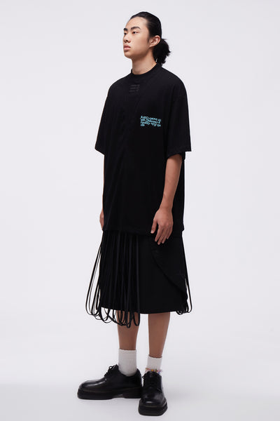 Formal Hula Kilt Black