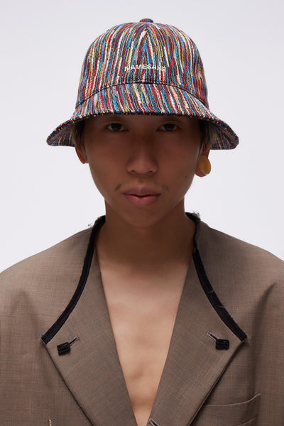 NAMESAKE - Strike Bucket Hat Multi Rainbow Slub
