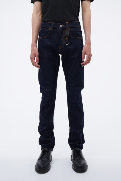 1017 Alyx 9sm - Classic Jean W/ Nylon Buckle Blue Denim