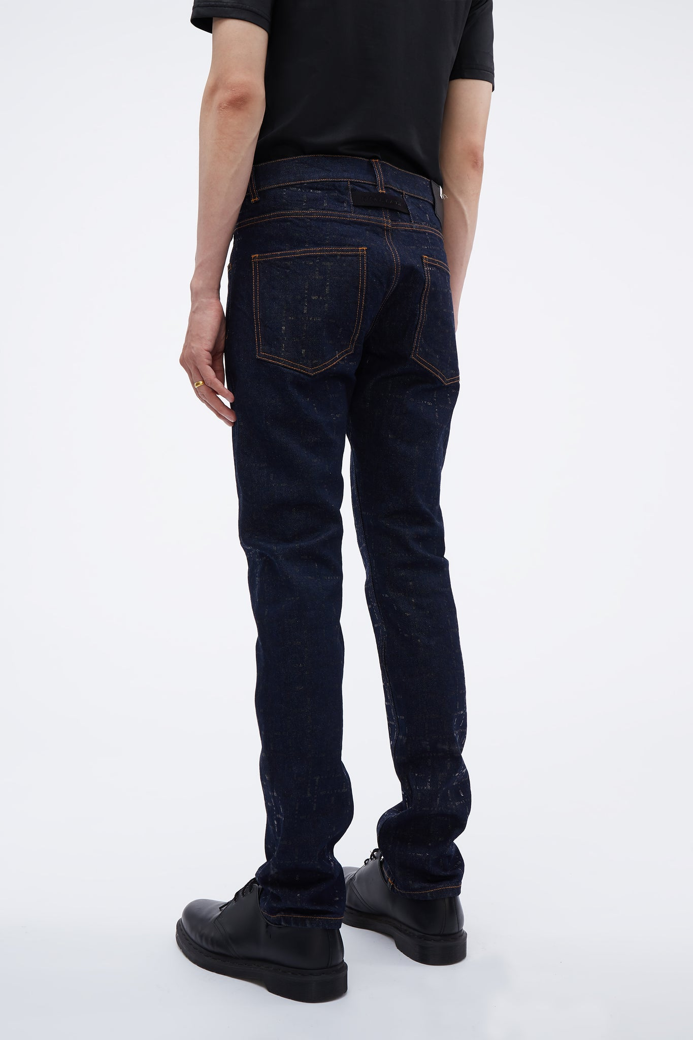 Classic Jean W/ Nylon Buckle Blue Denim