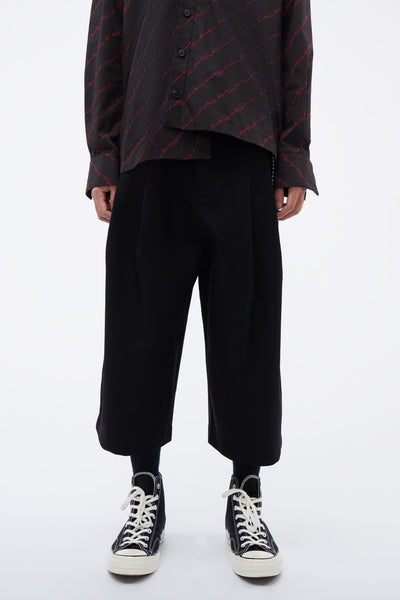 Song for the mute - ''19.2'' Print Bucket Pants Black