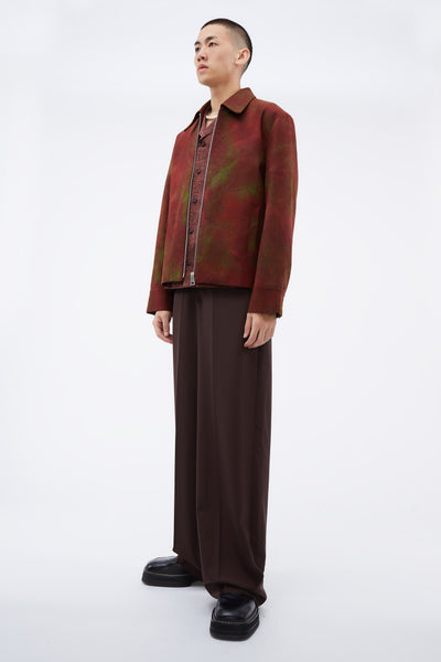 Wide Leg Pants Seal Brown