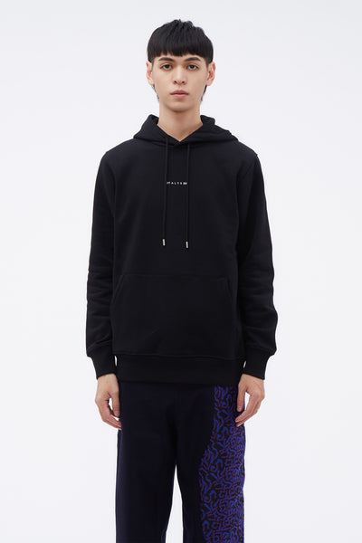1017 Alyx 9sm - Hooded Sweatshirt Visual Black