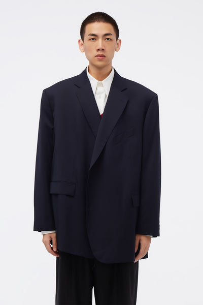 Martine Rose - Oversized Twist Jacket Navy
