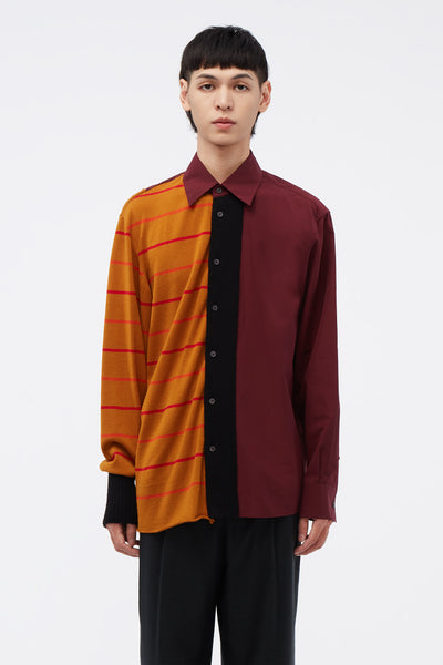 Marni - Red/Orange Knit Shirt