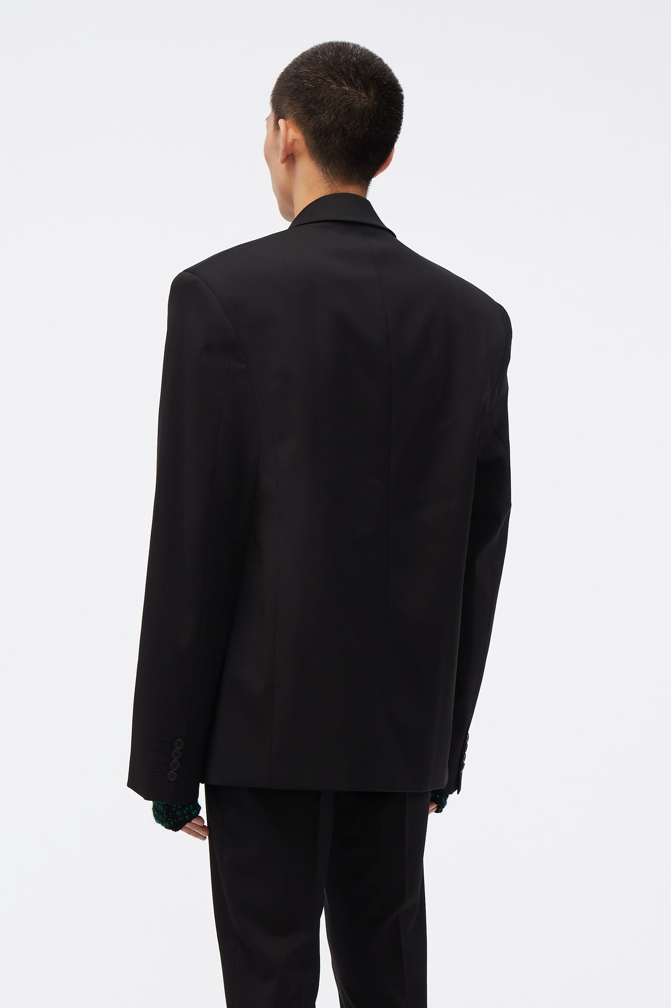 Eli Double Breasted Tailored Jacket