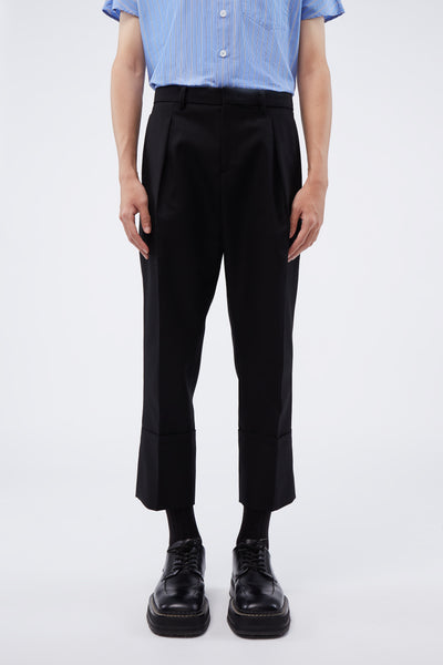 WOOYOUNGMI - Slim Pants Black