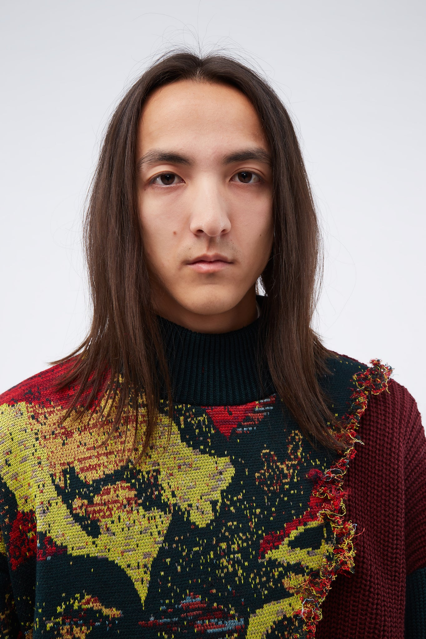 Fred Deconstructed Turtleneck Japonisme
