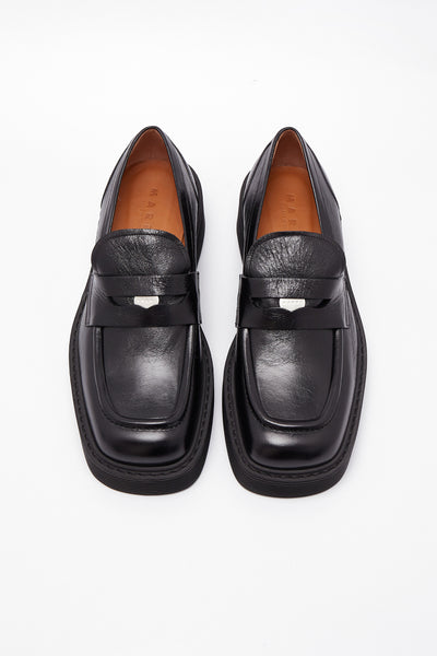 Moccasin Shoes Black