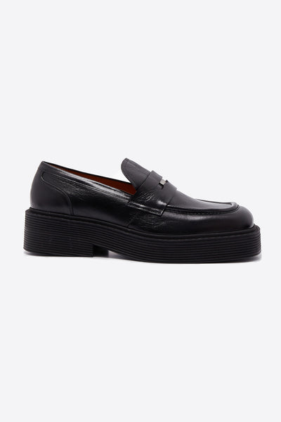 Marni - Moccasin Shoes Black