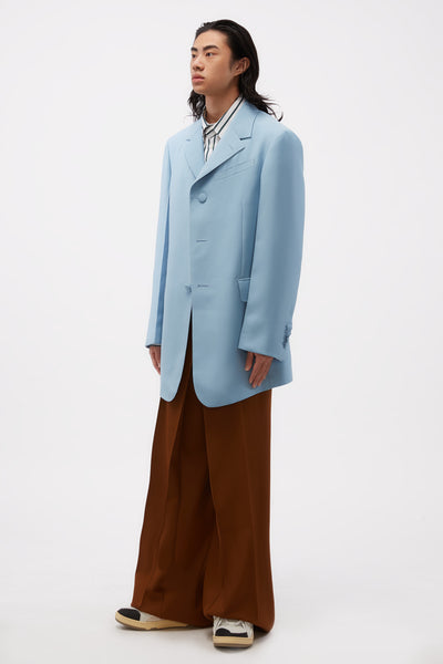 3 Button Long Jacket Storm