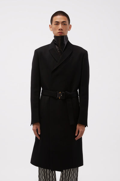 1017 Alyx 9sm - Double High Coat Black