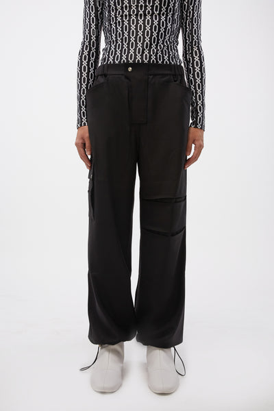 GmbH - Cargo Trouser Black