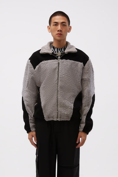 GmbH - Two Tone Fleece Jacket Grey/ Black