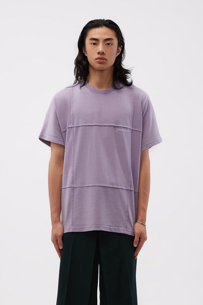 Jacquemus - Le Tshirt Carro Purple