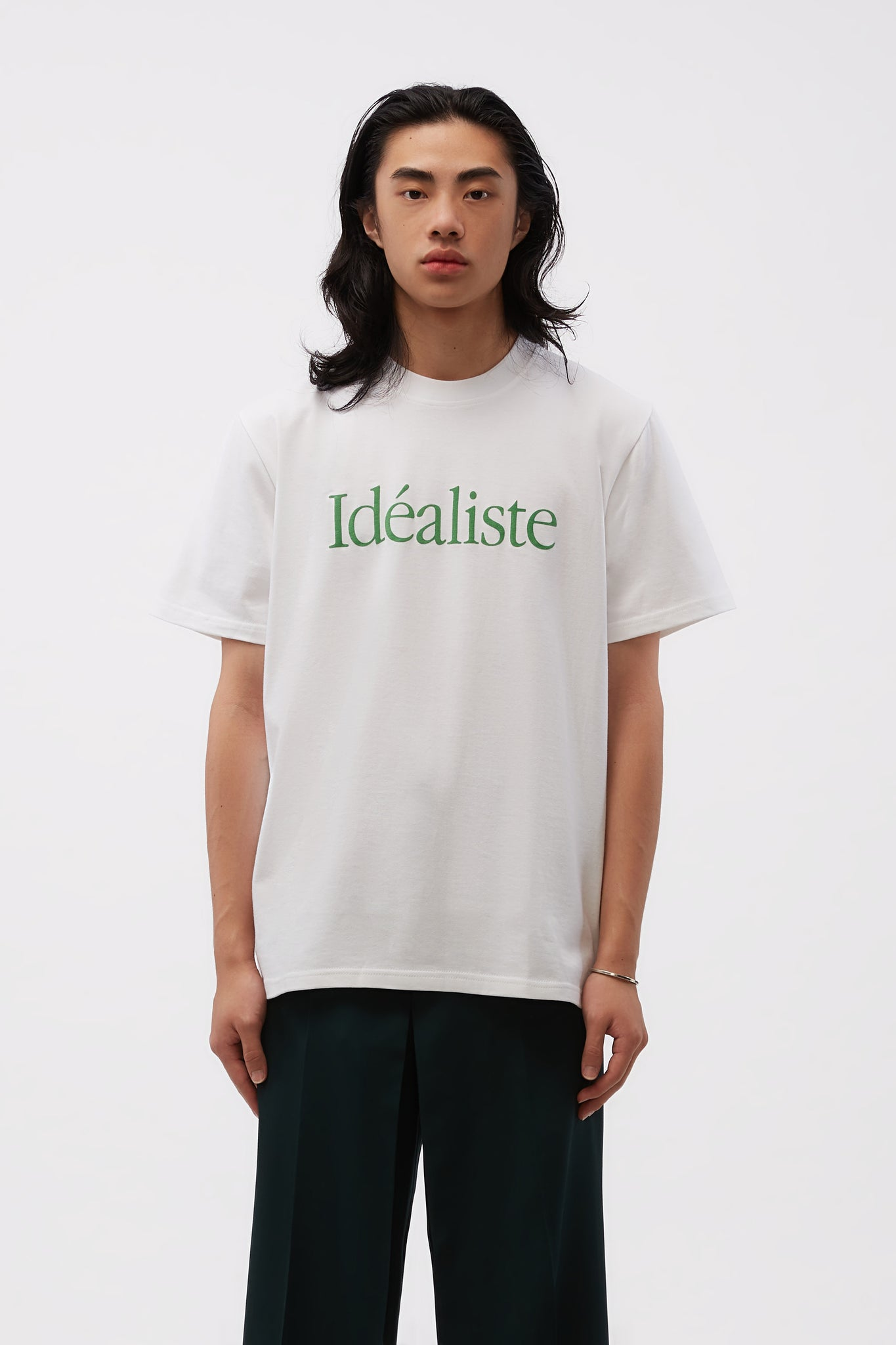 Idealiste Printed T-shirt White