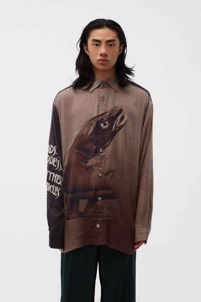 Vyner Articles - Oversize Shirt Cod2 Digital Print