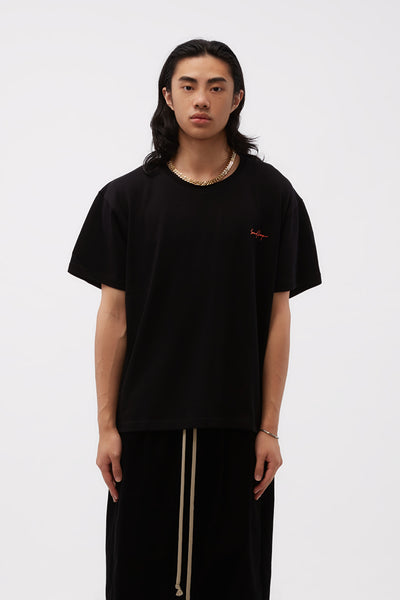 Second / Layer - Entanglement T-shirt Black